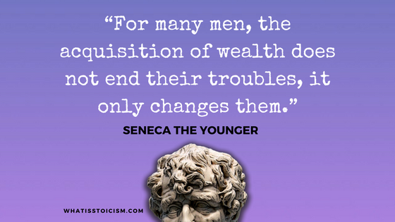 Seneca The Younger - Wealth