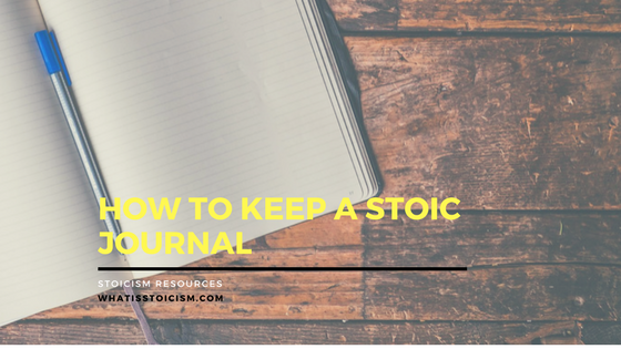 How to Keep a Stoic Journal – 7 Days of Example Entries