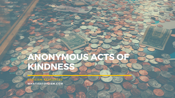 Anonymous Acts Of Kindness