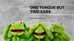 Why We Have One Tongue But Two Ears
