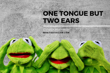 One Tongue But Two Ears