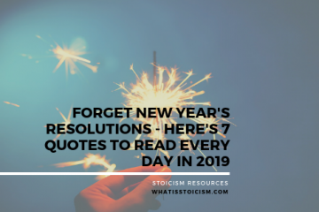 Forget New Year's Resolutions - Here's 7 Quotes To Read Every Day In 2019