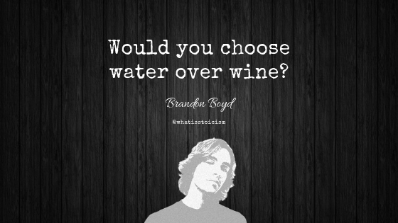 Would You Choose Water Over Wine?