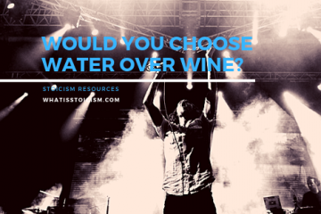 Would You Choose Water Over Wine