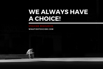 We Always Have A Choice