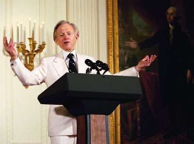 Tom Wolfe, author of A Man In Full