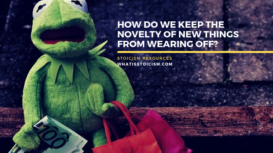 How Do We Keep The Novelty Of New Things From Wearing Off?