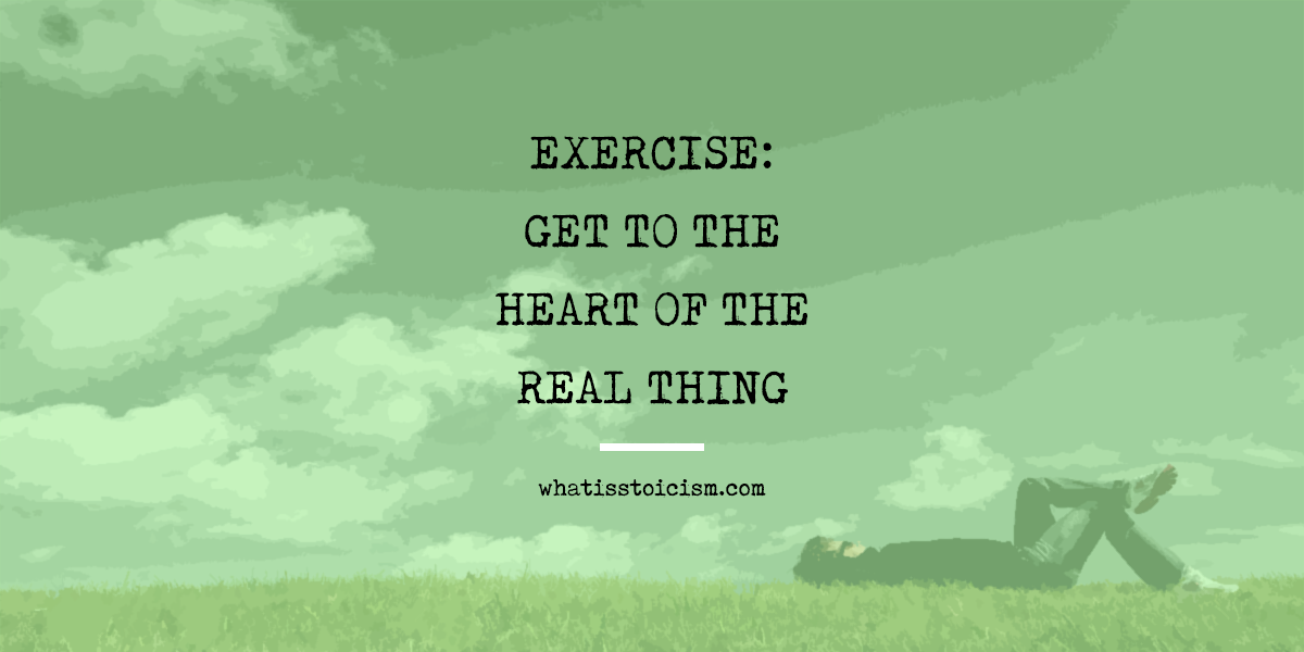 Excerise: Get To The Heart Of The Real Thing